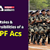 Roles and Responsibilities of a CAPF ACs