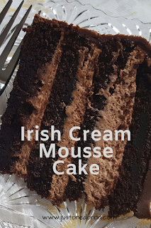 Irish Cream Mousse Cake