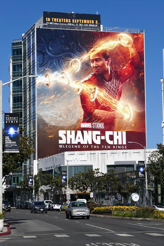 Shang-Chi Legend of Ten Rings movie billboard