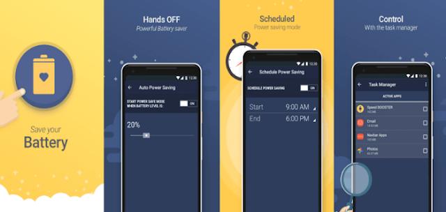 10 Aplikasi Terbaik Penghemat Batrei di Anroid Hingga 2 Hari