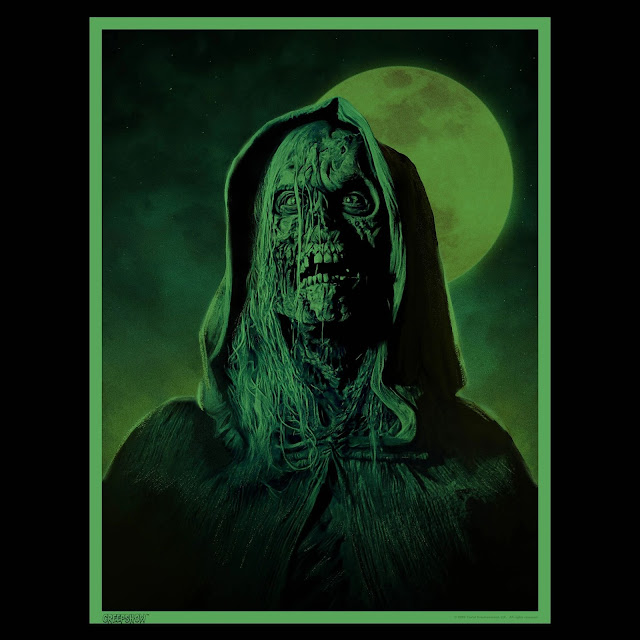 'The Creep' Glow-In-The-Dark Portrait