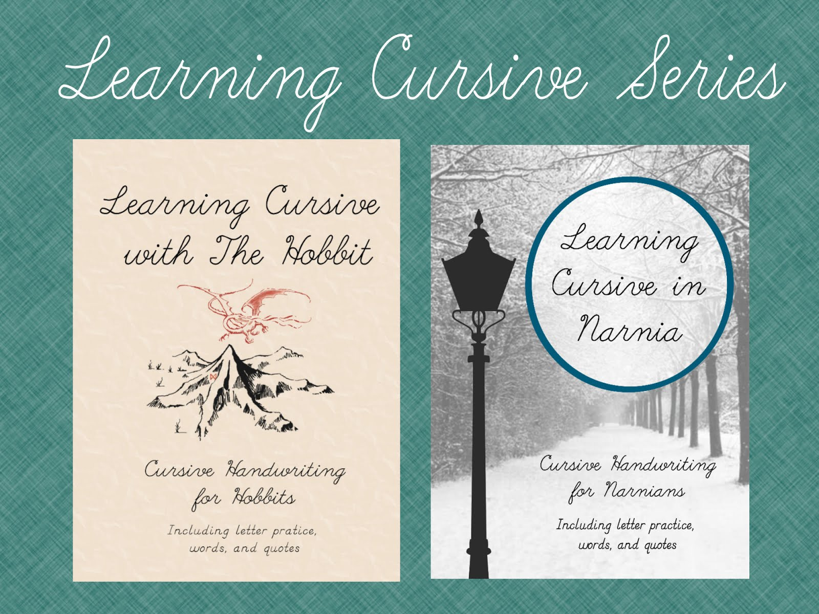 Learning Cursive