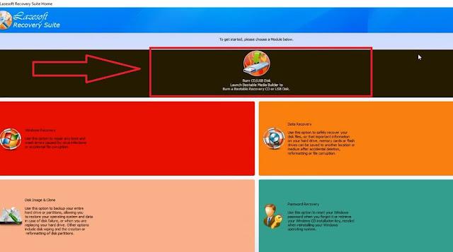 حل مشكلة نسيان كلمة سر الويندوز حذف باسورد ويندوز عند نسيانه دون فورمات lazesoft