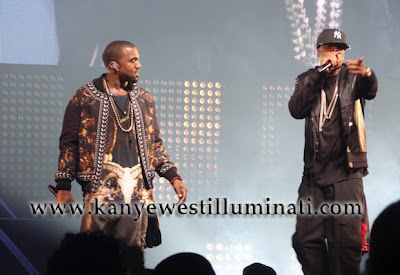 is kanye west illuminati with jay z watch for the throne