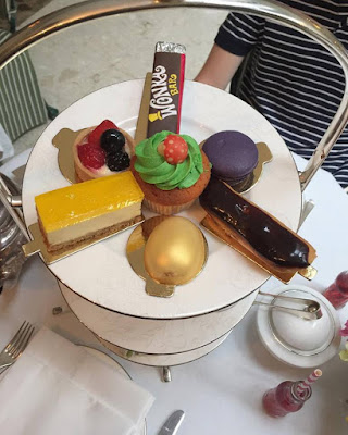 Chesterfield at Mayfair hotel London Willy Wonka afternoon tea