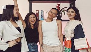Anya Geraldine Unggah Foto Bersama Luna Maya dan Sophia Latjuba, Warganet Salah Fokus: Wah, Mantan Ariel Semua