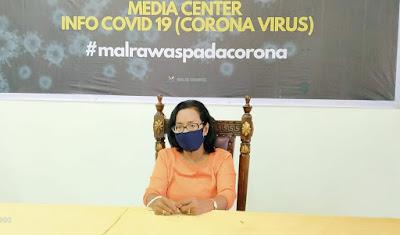 Juru bicara Pemerintah Daerah Maluku Tenggara untuk penanganan Covid-19, dr. Katrinje