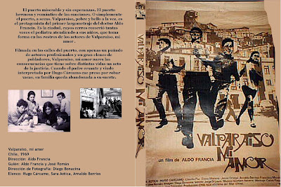 Carátula dvd: Valparaiso mi amor (1969)