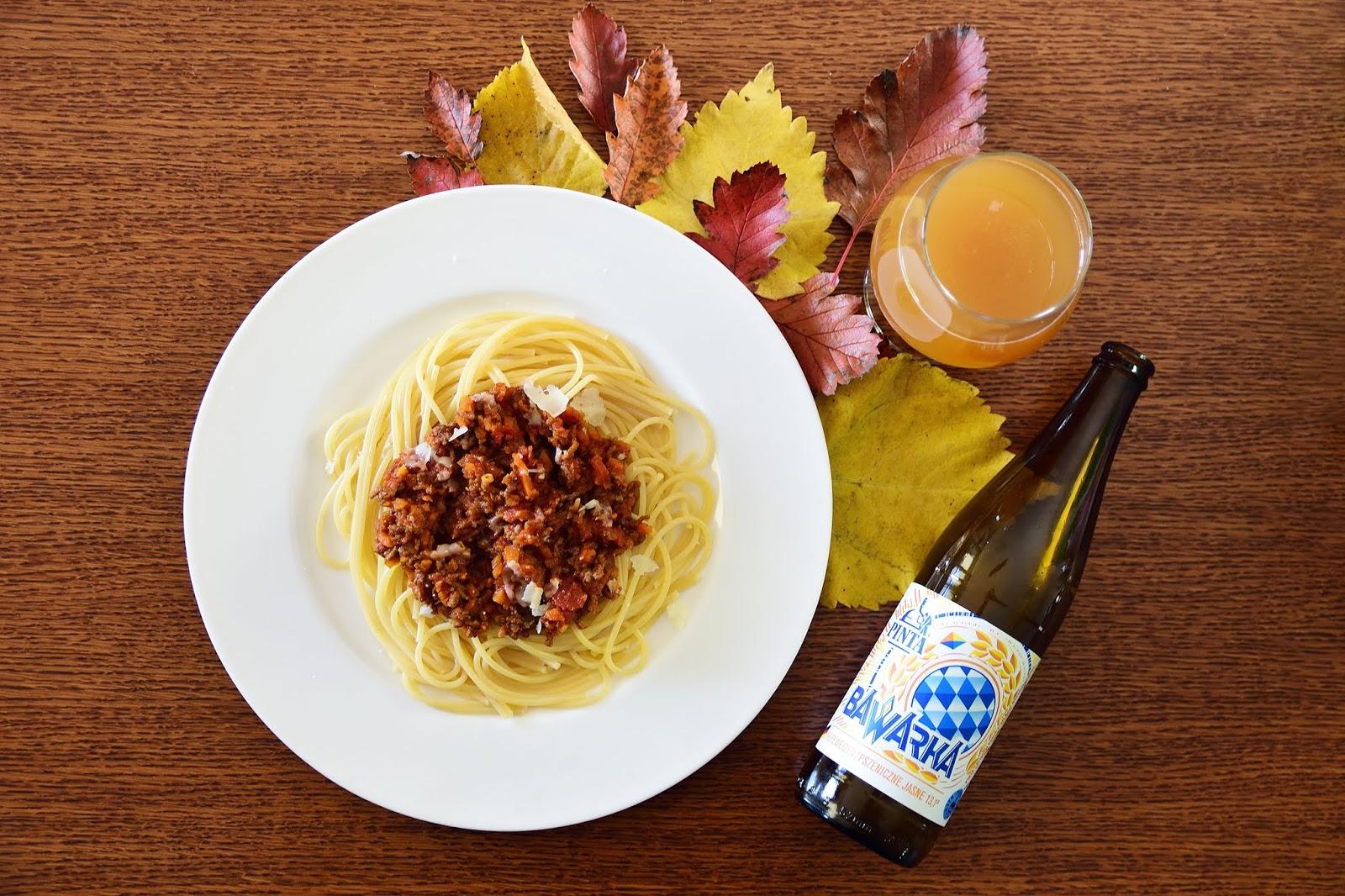 Piwna kuchnia - Spaghetti bolognese z piwem pszenicznym