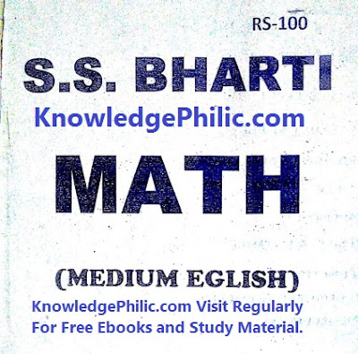 Complete SS Bharti Sir Maths Notes Advanced(Part 2) Download Free