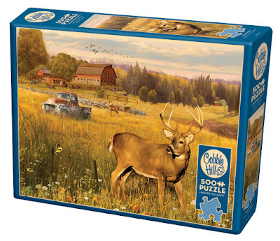 Deer Field Puzzle box by Cobble Hill Puzzles