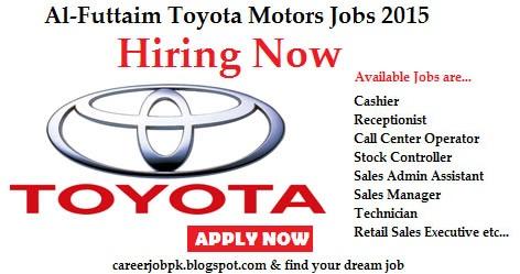 Toyota Dubai Al Futtaim Motors Jobs