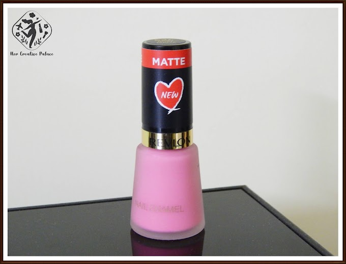 Revlon Nail Enamel Rosy Matte: Review, Swatch