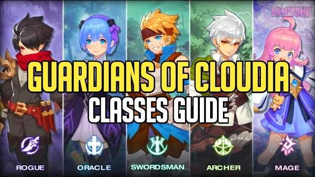Guardians of cloudia classes guide
