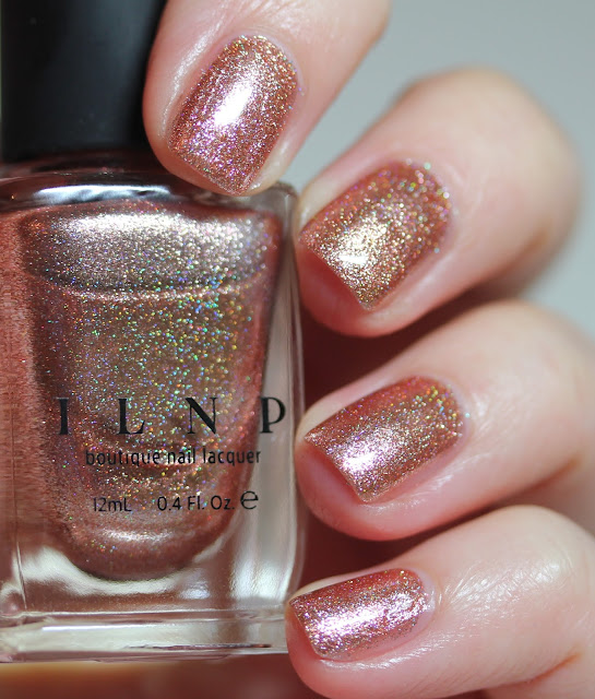 ILNP Chelsea Rose Gold Nail Polish