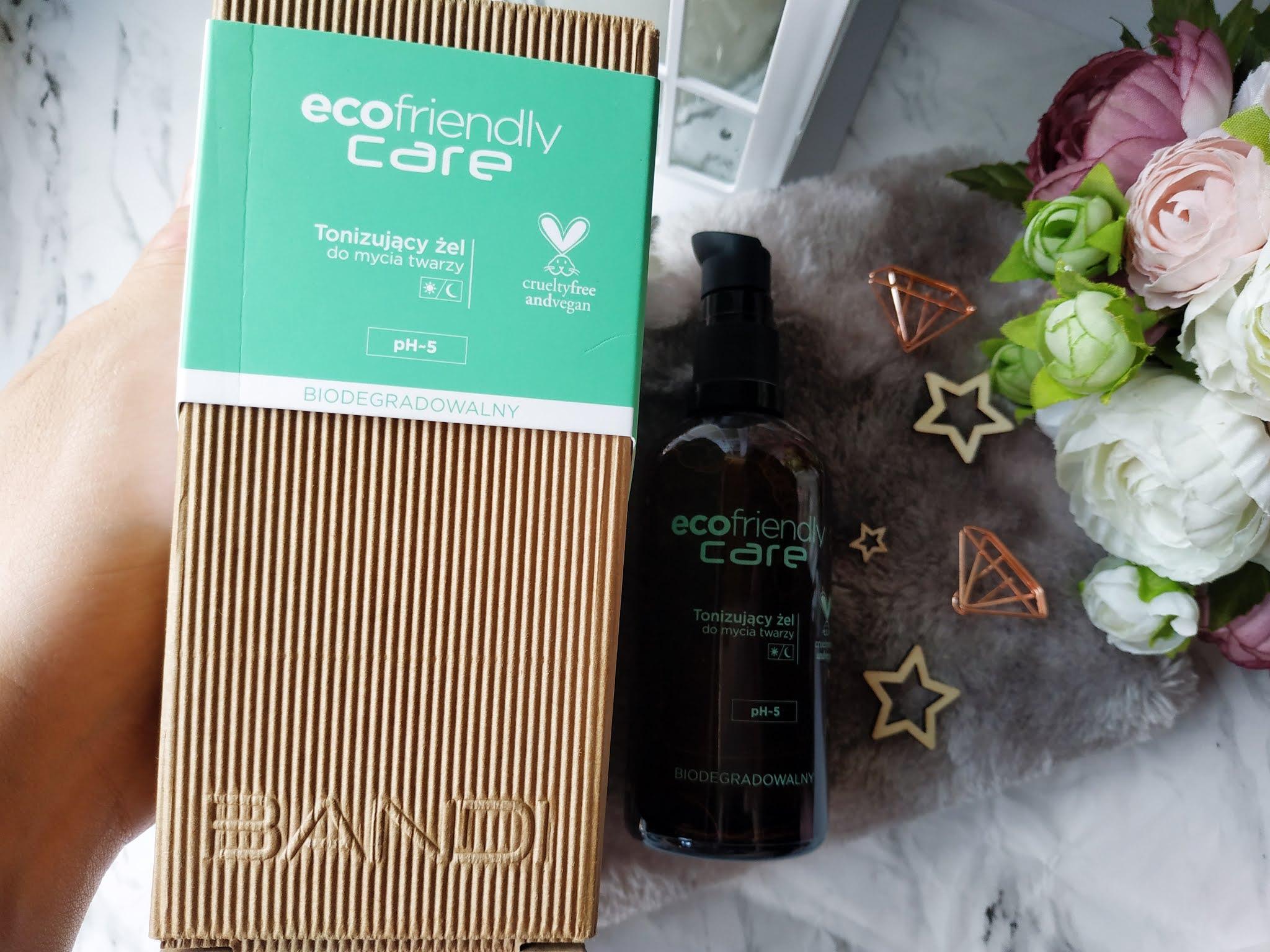 Bandi Ecofriendly Care - tonizujący żel do mycia twarzy