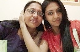 Lakshmi Menon with Mother his Child and Family Pictures