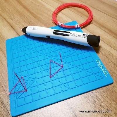 Magic Wirless 3D Pen, Magic Mat and PCL Filament