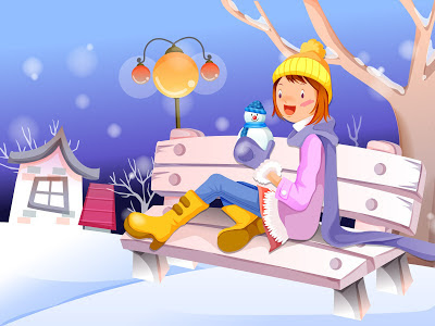 animated-girl-christmas-HD-wallpapers