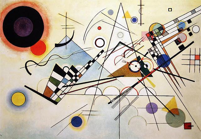 抽象画を生み出した画家、ワシリー・カンディンスキー【a】 コンポジション8