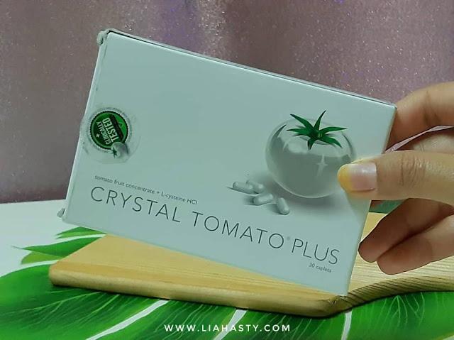 Suplemen Cerahkan Kulit 'Crystal Tomato Plus' dari Dr. KO