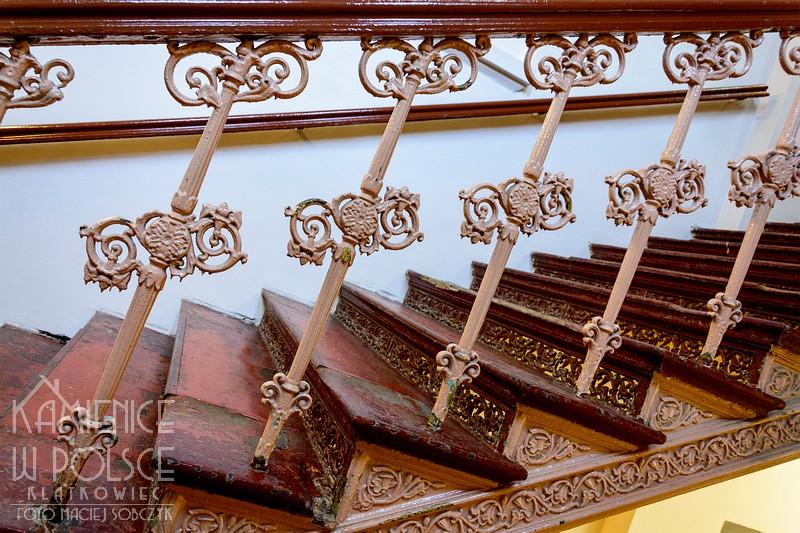 Bytom: żeliwne schody