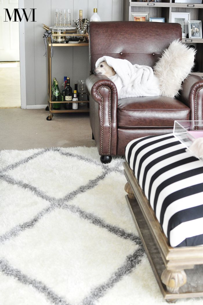 rugs usa moroccan diamond shag rug review monica wants it. Black Bedroom Furniture Sets. Home Design Ideas