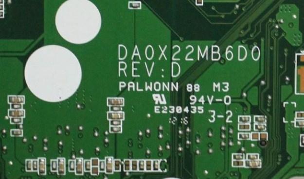 DA0X22MB6D0 Rev D HP 15-ab108AX AMD Bios