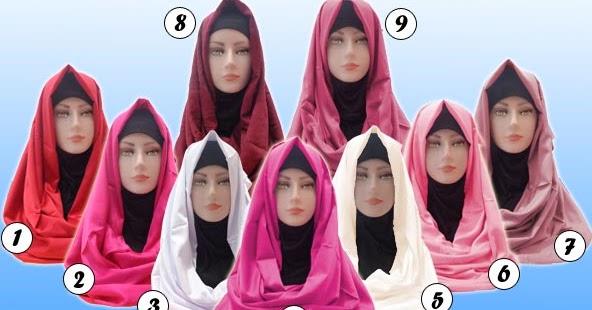 Jilbab Pashmina Satin Velvet Murah Dan Bagus