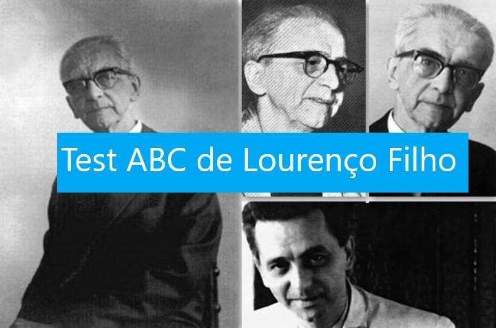 Test ABC  de Laurence Filho.
