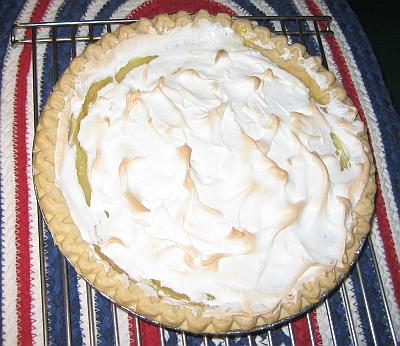 Lemon Meringue Freezer Cake