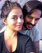 mitali nag with her husband