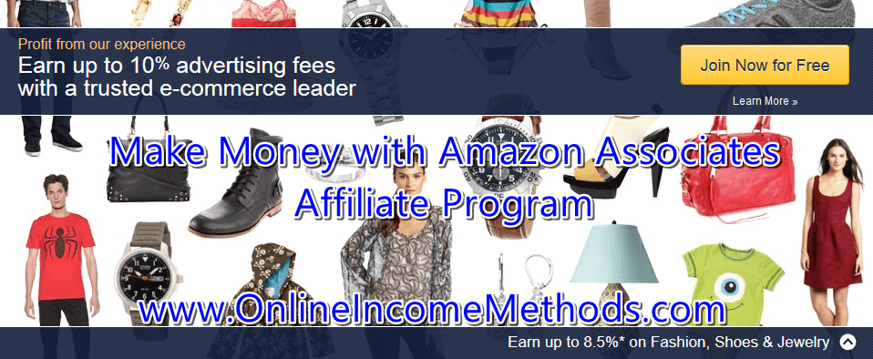Make Money with Amazon Associates Affiliate Program