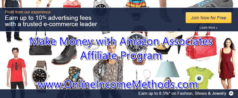 Make Money with Amazon Associates Affiliate Program
