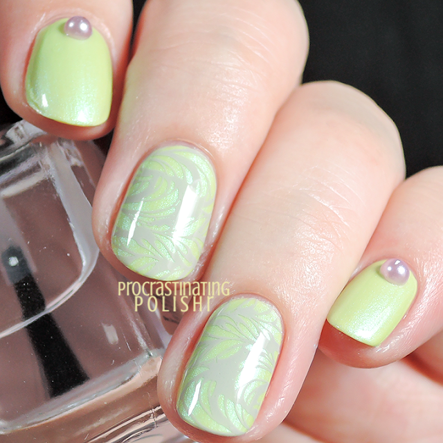 Spring Nail Art | Femme Fatale Cosmetics - Morning Glory