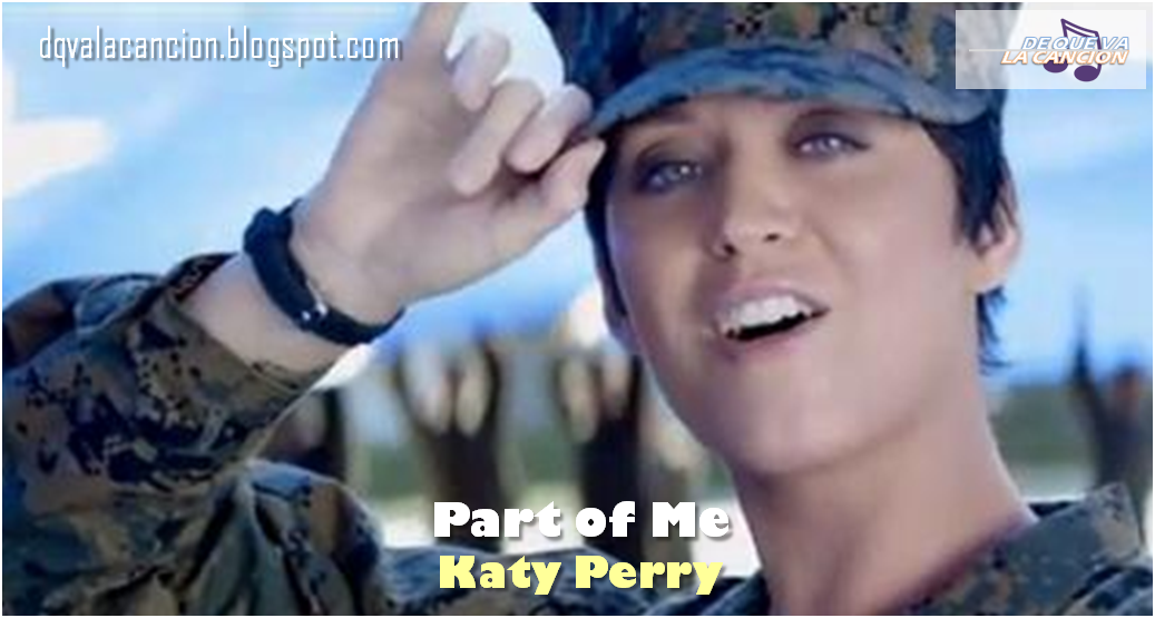 Part Of Me Katy Perry 2010