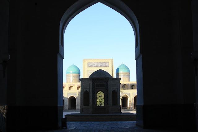 Ouzbékistan, Boukhara, Kaylan, Taratkhana, ablutions, mosquée, © L. Gigout, 2010