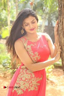 Telugu Actress Anusha Stills at Dhyavudaa Movie Teaser Launch  0019.JPG