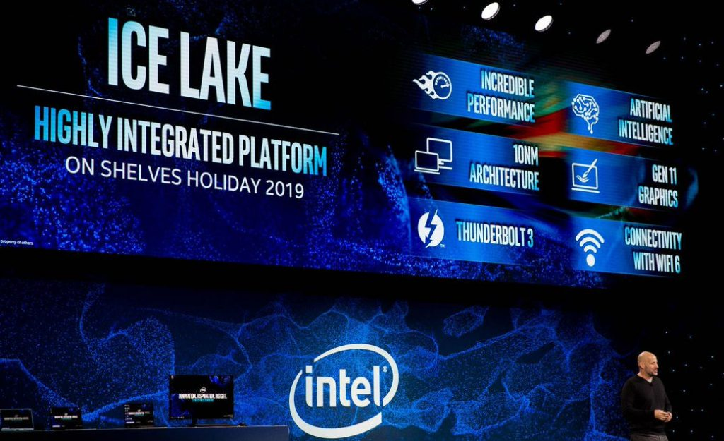 Intel Ice Lake mobile PC platform