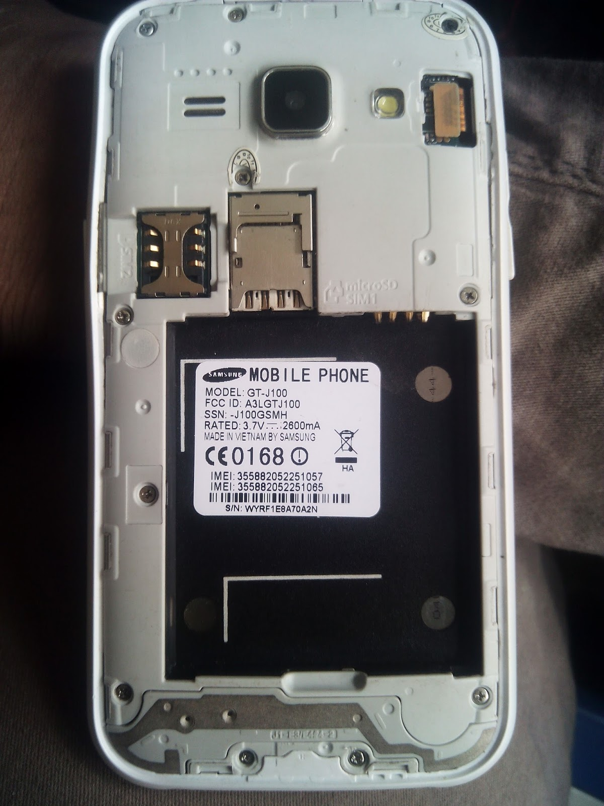 SOHEL TELECOM: Samsung SM-J100 Flash File MT6572 Firmware By
