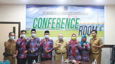 Sambut Audiensi PPDI, Bupati Tanjab Barat Harap Bisa Sinergi Bangun Desa