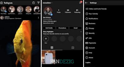 Cara Aktifkan Mode Gelap di Instagram