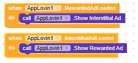 use applovin extension interstitial ads