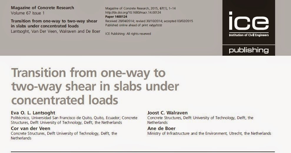 PhD Talk: Transition from one-way to two-way shear in slabs under