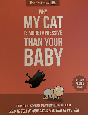 Feline Fiction on Fridays #124 ©BionicBasil®  Why My Cat Is More Impressive Than Your Baby - Amber's Purrsonal Copy