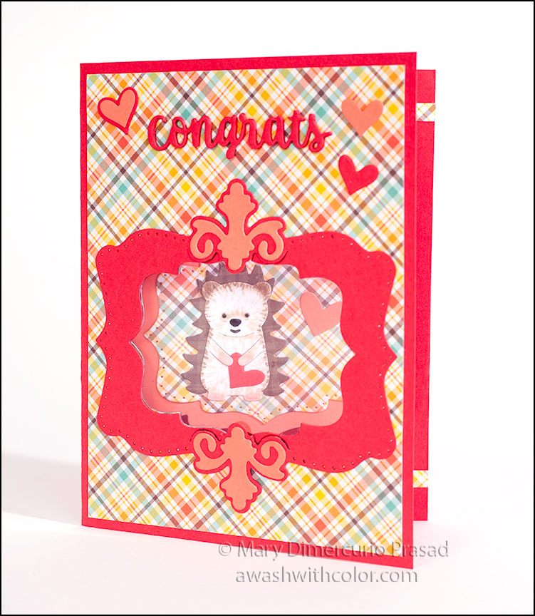 Awash With Color Katherine Label Pop Up Window Gift Card