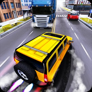 Race the Traffic Nitro v1.0.3 android game logo