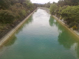 Canal de las Bardenas, de 132 km de longitud.