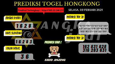 Prediksi akurat nomor lotere di Hong Kong pada hari Selasa, 9 Februari 2021
