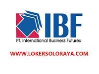 Loker Solobaru November 2020 di PT International Business Futures